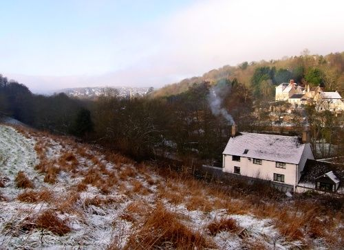 The Avening/Nailsworth Valley, Gloucestershire.