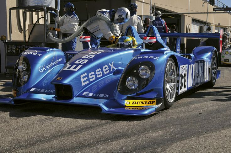 Dunlop-shod Le Mans racing car