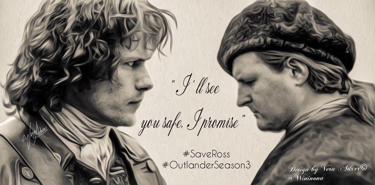 #SaveRoss Outlander  Scott Kyle