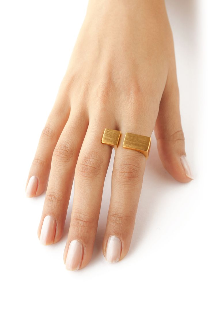 Gold plated Ring and a Half