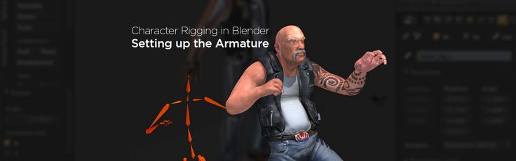 Dive into Blender's rigging toolset by following along with this article covering the basics of rigging in Blender, and have a completed character rig ready for animation by the end of the series: http://blog.digitaltutors.com/how-to-create-your-first-character-rig-in-blender-part-1/