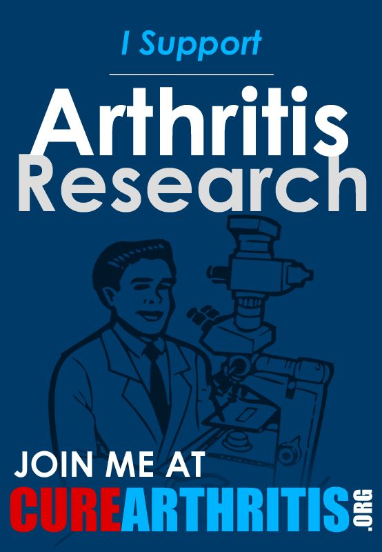 I support arthritis research!