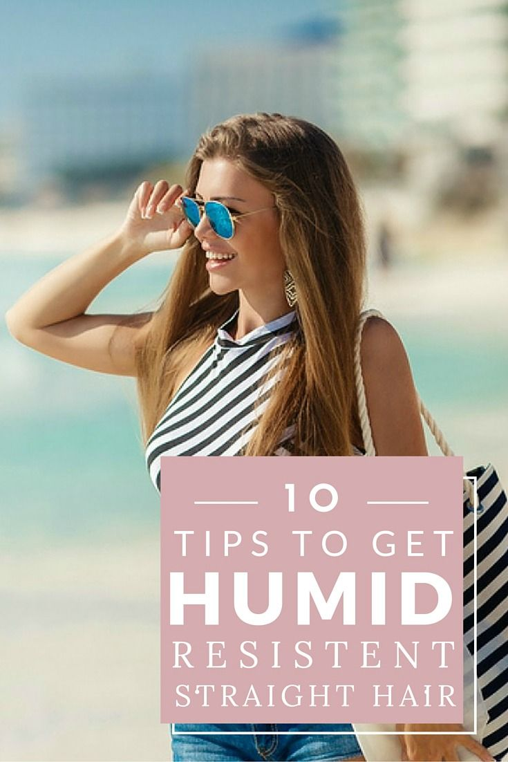 If you prefer to sport sleek, straight hair, but struggle with humidity hair like Monica from Friends, these anti-humidity tips and products will save you a TON of time in the mornings on hot, humidy days.