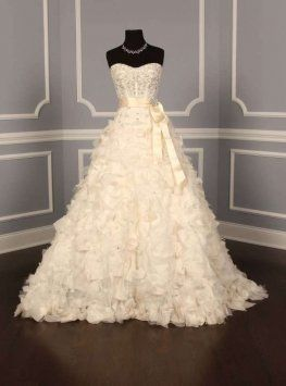 Monique Lhuillier Platinum Collection Orchid Wedding Dress $8,470
