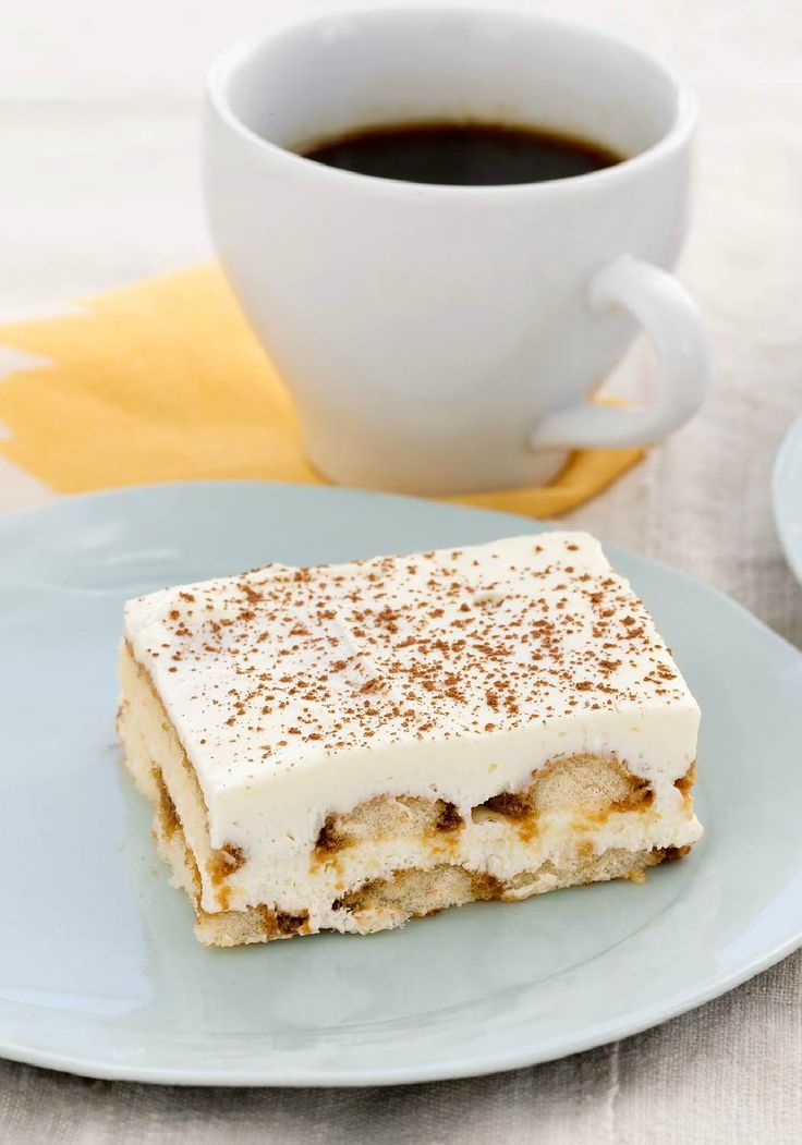 Fast & Easy Tiramisu – A Healthy Living dessert recipe doesn't have to taste like...well, nothing. It can taste like creamy, delicately layered tiramisu.