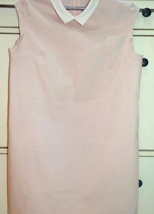 Kup mój przedmiot na #vintedpl http://www.vinted.pl/damska-odziez/sukienki-wieczorowe/12386867-mohito-pensjonarka-sukienka-l-40-pastelowa-rozowa-z-kolnierzykiem