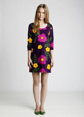 Marimekko tunic by Mika Piirainen, pattern by Maija & Kristina Isola