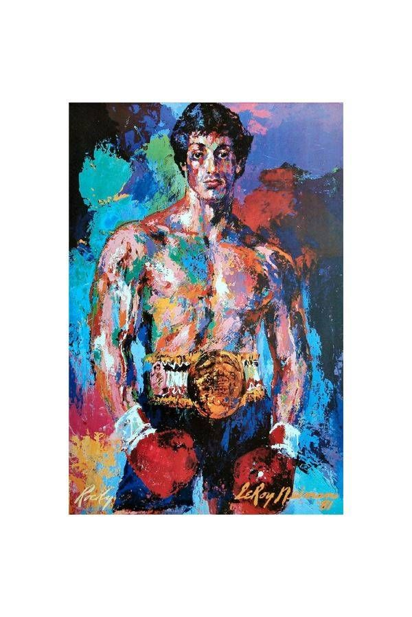 Cheap poster printing material, Buy Quality poster board directly from China print photos on cushions Suppliers:   Abstract Portrait Print Painting Famous Boxing Player Rocky Balboa Canvas Print Poster For Living Room Decoration 30x2