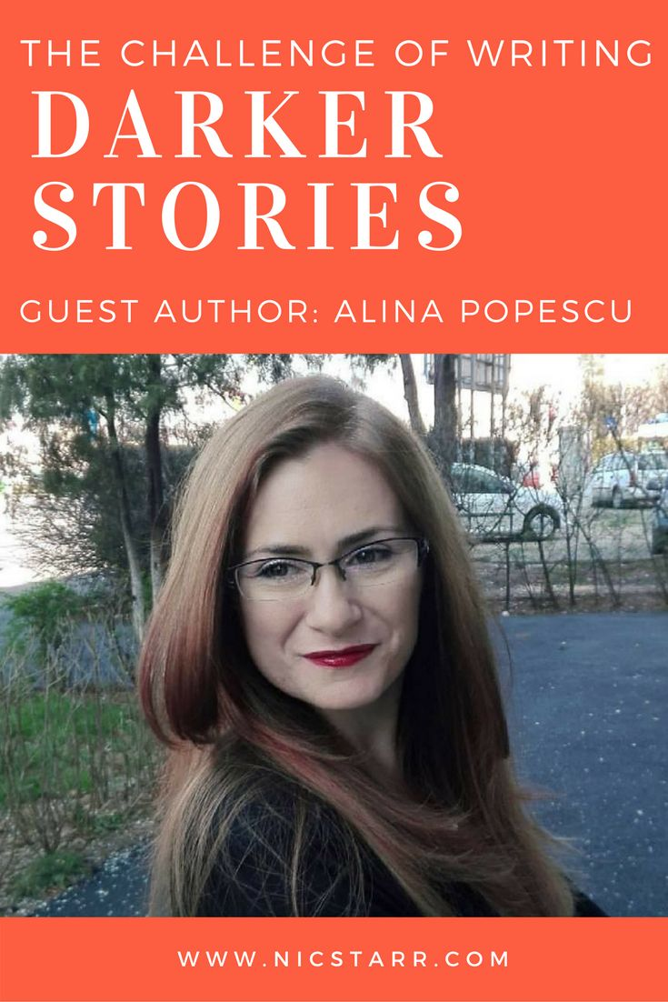 Gay romance author, Alina Popescu, provides a guest post on the challenges of writing darker stories #mmromance #gayromance