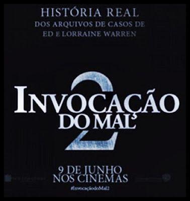 NOTÍVAGOS O DIA PELA NOITE: FILME INVOCAÇÃO DO MAL 2 O CASAL WARREN