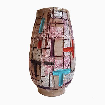 Italienische Keramik Vase Von Fratelli Fanciullacci, 1960er Jetzt Bestellen  Unter: Https://moebel.ladendirekt.de/dekoration/vasen/tischvasen/?uidu003da49fa326   ...
