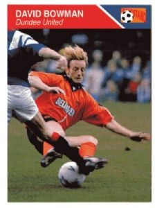 DUNDEE UNITED - David Bowman #68 Grandstand Sports 1993 Trading Card