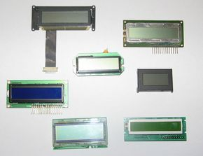 Picture of TN STN and FSTN Liquid Crystal Display Modules (LCD Modules)