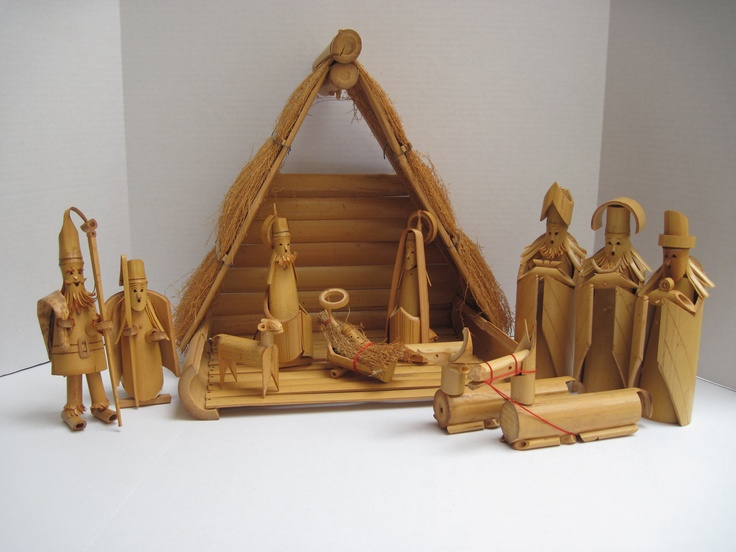 Southcentric bamboo nativity vintage creche beautiful bamboo southcentric bamboo nativity vintage creche beautiful bamboo pinterest christmas nativity winter christmas and craft solutioingenieria Gallery