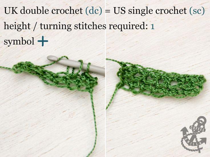 Basic Crochet Stitches - Double Crochet