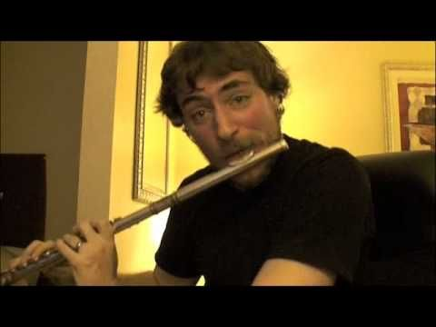 This guy is a hard-core flute player.  Never thought that was possible.
