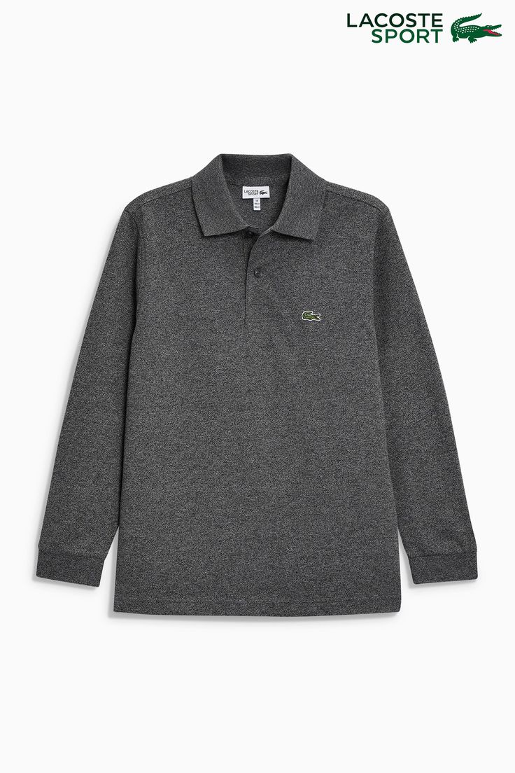 Buy Lacoste® Sport Long Sleeved Polo from the Next UK online shop