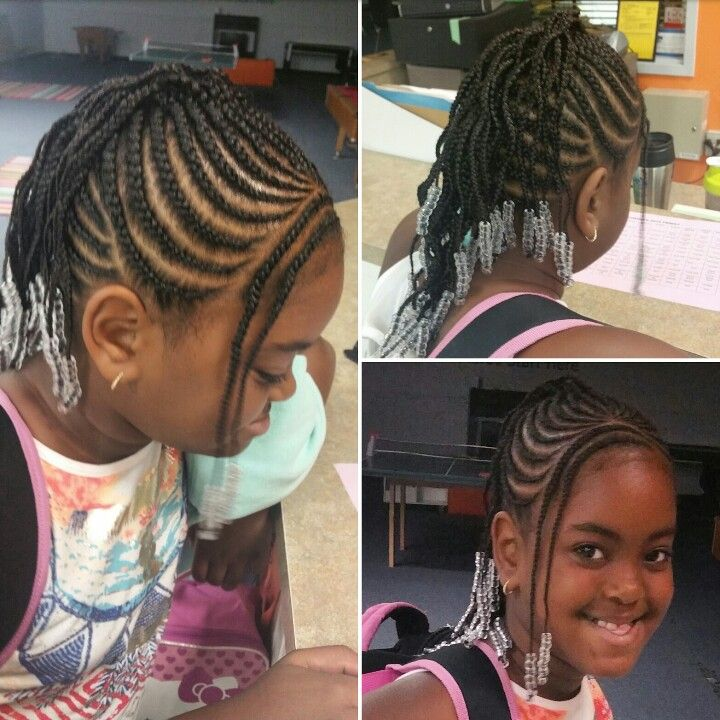 Easy Cute Kid Appropriate Braided Mohawk With Bang Braids