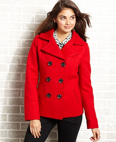 17 Best images about Red peacoat on Pinterest | Coats, Winter ...