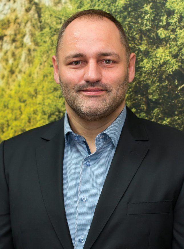 Szűcs Róbert, az Etalon Zala Kft. ügyvezető igazgatója, a Varázsházikó Program alapítója