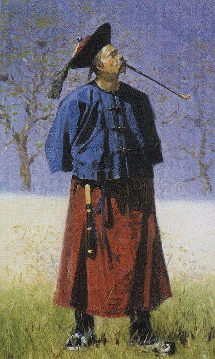 Китаец. 1873. Василий Васильевич Верещагин