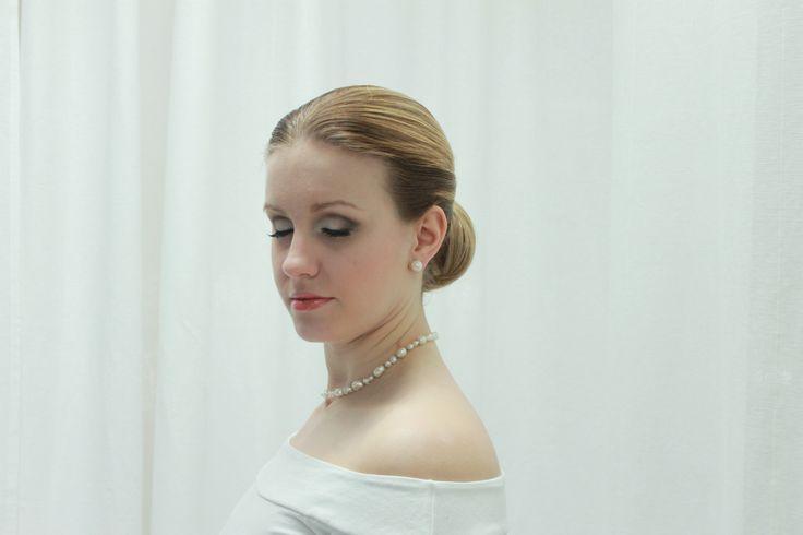 Classical makeup and hair by Emmi/Parturi-kampaamo Salon Maria Seinäjoki