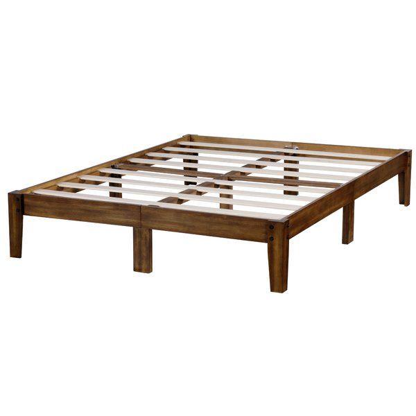 Eli Storage Platform Bed Wood Platform Bed Bed Frame Hardware Platform Bed