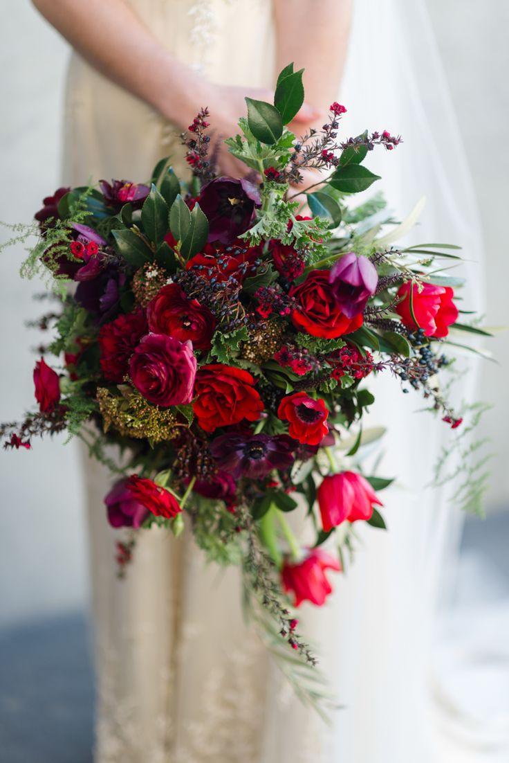 Wedding Bouquet Recipe ~ An Opulent Hand-Tied Autumn Bouquet
