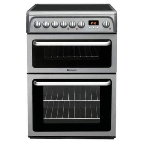 Buy Hotpoint HAE60GS Graphite Electric Cooker, Double Oven from our Free Standing Cookers range - Tesco.com