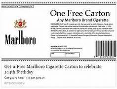 Social Media Scam: Fake Marlboro Coupon - wafflesatnoon.com