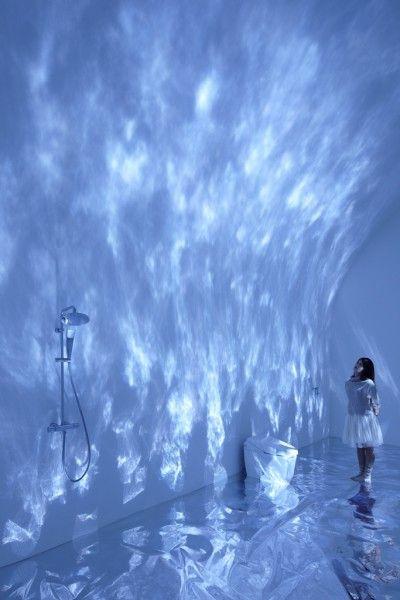 Torafu, water, light, projection