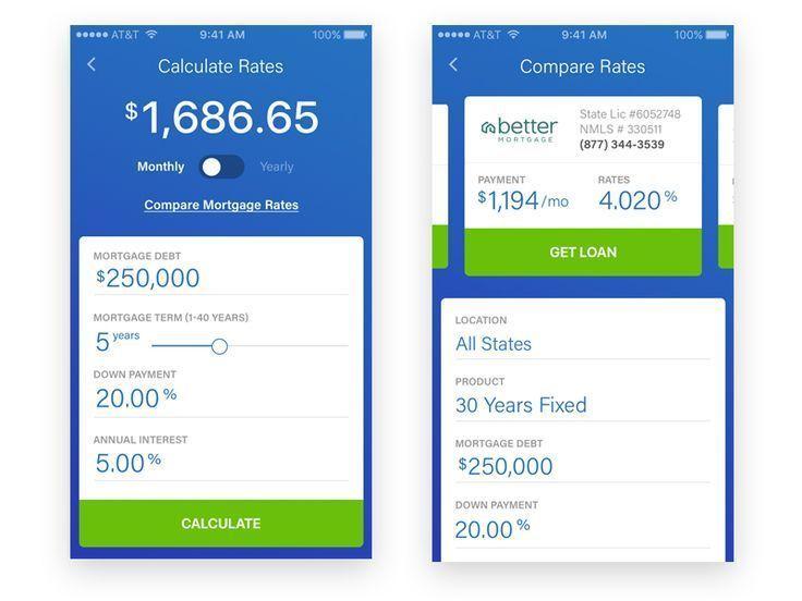 Mortgage Calculator Mortgage Calculate App By Erlangga Maulana Amortization Calculat Online Mortgage Mortgage Loan Calculator Mortgage Amortization Calculator
