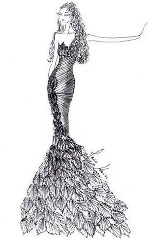 свадебное платье 2013 от Maria Karin