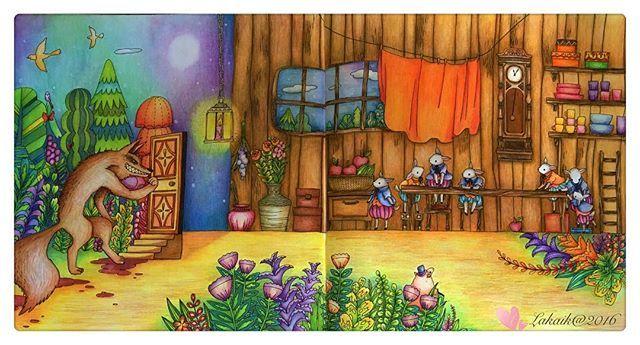 📕童话@Nao Sakamoto@グリム童話ぬりえブック 🎨Colored Pencils  #coloringbookforadult #coloring #coloringmasterpiece #ilovecoloring #coloringforadult #coloringbook #coloriage #beautifulcoloring #grimmsmärchen #naosakamoto #lakaik #グリム童話ぬりえブック #著色畫 #著色趣 #著色 #大人の塗り絵 #コロリアージュ #ぬりえ #色鉛筆 #趣味
