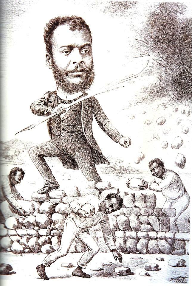 José do Patrocínio  (Campos dos Goytacazes, 9 de outubro de 1853 — Rio de Janeiro, 29 de janeiro de 1905) foi um farmacêutico, jornalista, escritor, orador e ativista político brasileiro.   Destacou-se como uma das figuras mais importantes dos movimentos Abolicionista e Republicano no país. Foi também idealizador da Guarda Negra, que era formada por negros e ex-escravos.  Fundou, em 1880, juntamente com Joaquim Nabuco, a Sociedade Brasileira Contra a Escravidão.   Em Maio de 1883, articulou