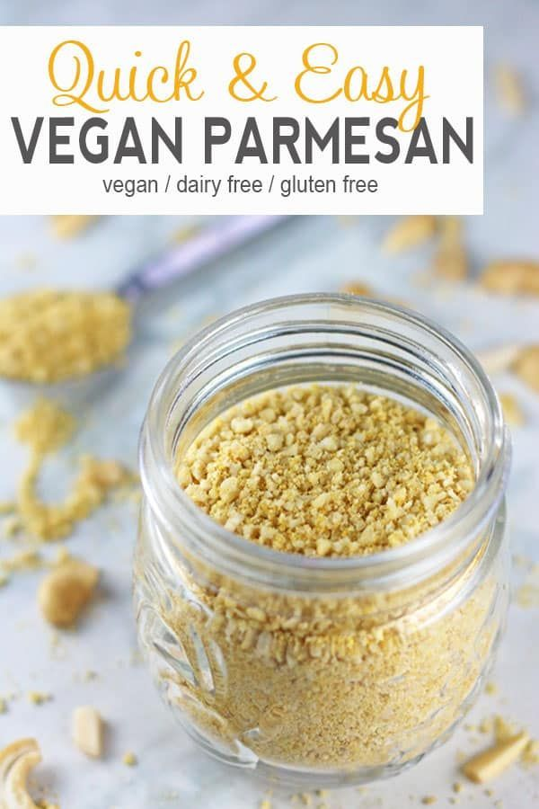 Vegan Parmesan Cheese Recipe Vegan Parmesan Dairy Free Recipes