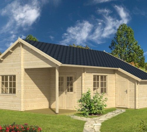 Large Summer House With Shed