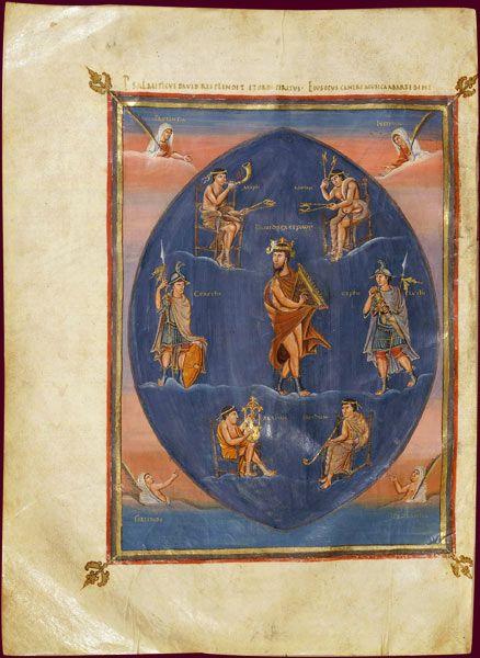 1. La première Bible de Charles le Chauve