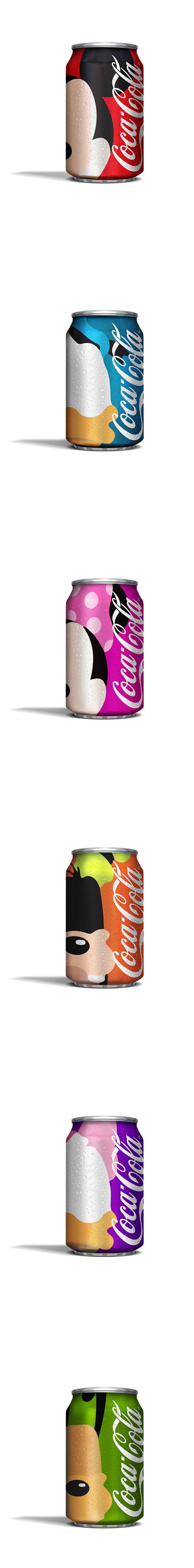 Disney Coke concept. Sublime.