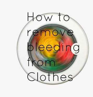 """I hate when color bleeds and """"ruins"""" your clothes.. this is how to fix that. You can save them and it isn't hard!"""