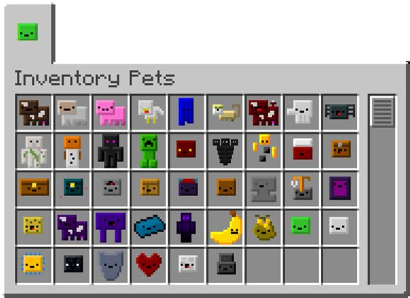 Inventory Pets: Animated creatures that live in your inventory and give you amazing special abilities - Minecraft Mods - Mapping and Modding - Minecraft Forum - Minecraft Forum