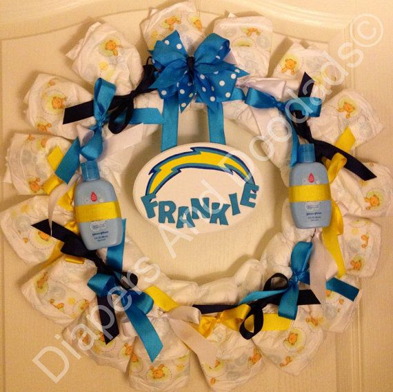 San Diego Chargers Baby: 17 Best Images About Baby Shower On Pinterest