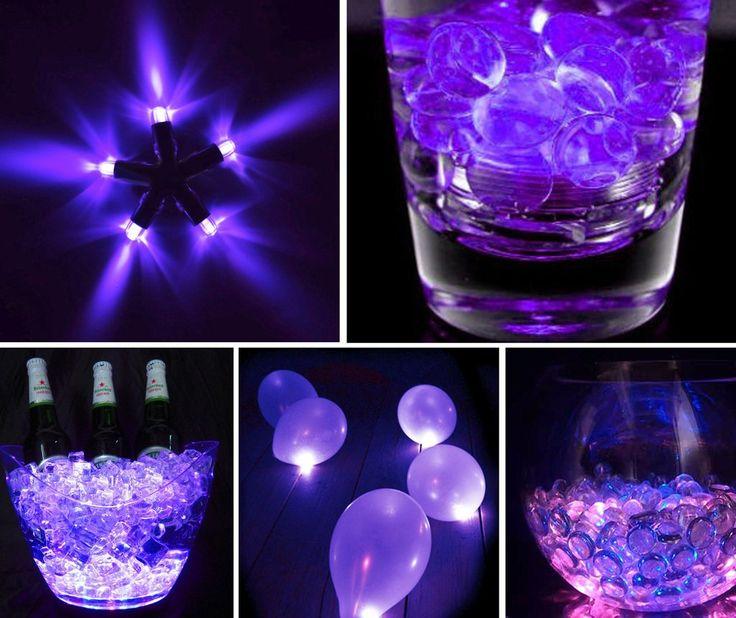 Waterproof LED Lantern / Balloon Light - Purple