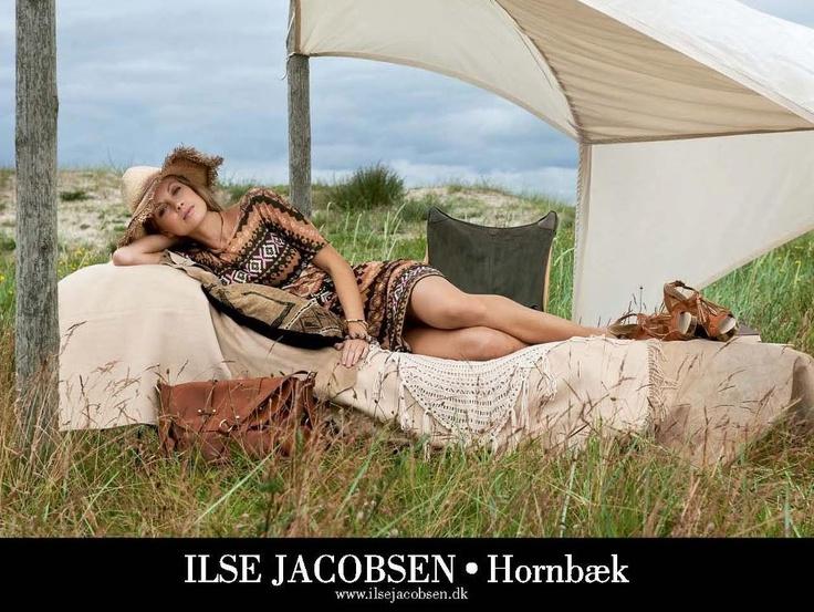 We love this #ilsejacobsen dress $199 #ss12 #ss13 #tribalprint #summer