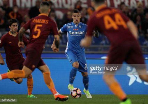 04-04 ROME, ITALY - APRIL 01: Rade Krunic of Empoli FC in action... #rade: 04-04 ROME, ITALY - APRIL 01: Rade Krunic of Empoli FC in… #rade
