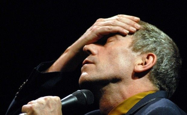 """Photo of Hugh Laurie- concert at the """"Teatro Circo Price"""" - Madrid. 27.07.2012 for fans of Hugh Laurie."""