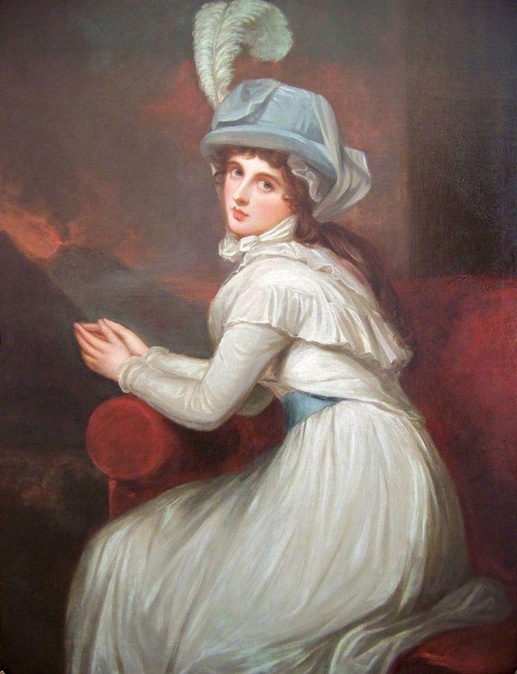 George Romney - Lady Emma Hamilton as Ambassadress, 1791. Blanton Museum of Art, University of Texas, Austin, Texas.