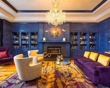 DoubleTree by Hilton Hotel Savannah Historic District, GA - Cobalt Library, Seating | GA 31401