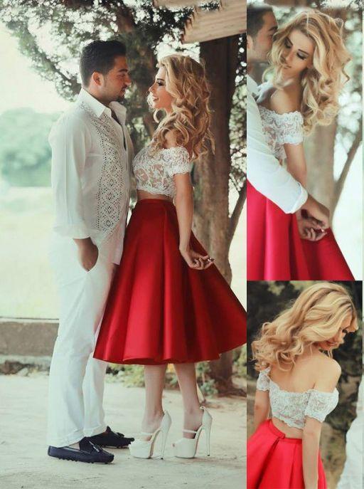 2017 Elegant A Line Short Prom Dress,Knee Length Satin Party Dress,Lace Appliques Bodice Prom Dress,Off the Shoulder Cocktail Dress,Backless Prom Dress