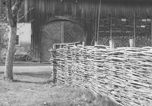 Flechtzaun 1943